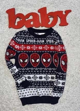 Очень классный свитерок на 3-4 года)