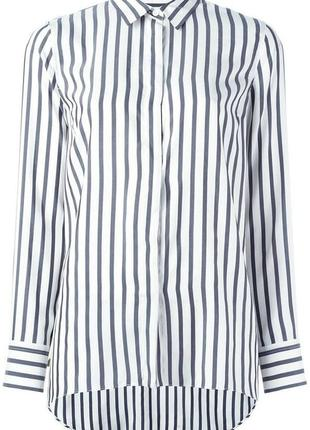 Стильная рубашка прямого кроя