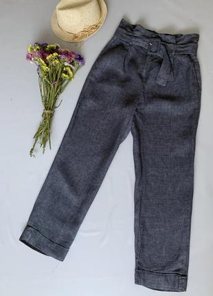 Льняные брюки cappellini