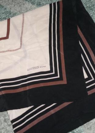 Шелковый платок davinci roma