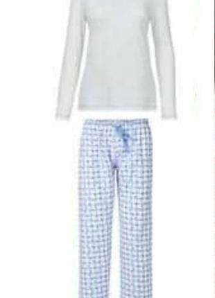 Домашний костюм blue motion s m германия пижама реглан брюки