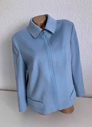 Шерстяной жакет пиджак akris punto оригинал