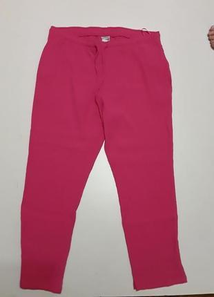 Фирменные легкие яркие брюки штаны