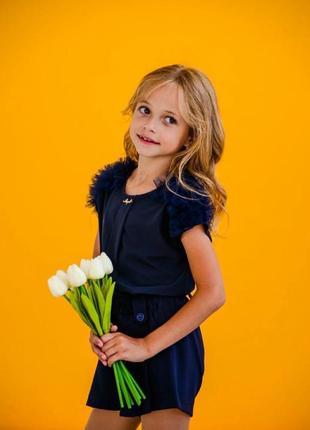 Блузка на 6-9 лет