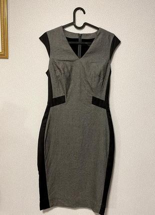 Миди платье из шерсти премиум класса next tailoring premium / большая распродажа!