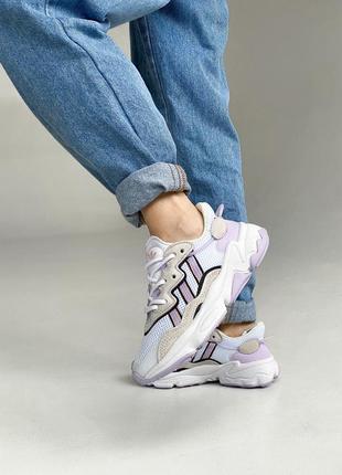 💜 женские кроссовки adidas ozweego