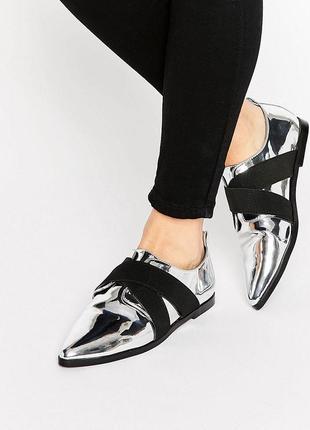 Туфли балетки asos