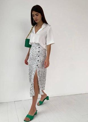Женский костюм : юбка + рубашка 2021