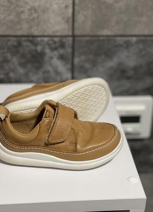Туфли кроссовки натуральная кожа clark's