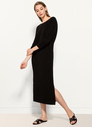 Вязаное платье massimo dutti