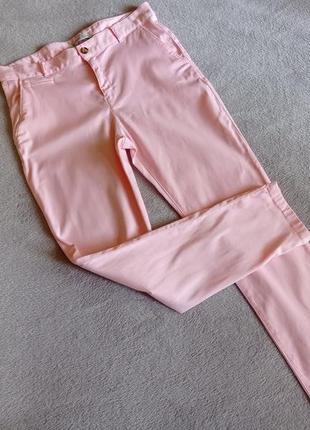 Розовые брюки зара zara