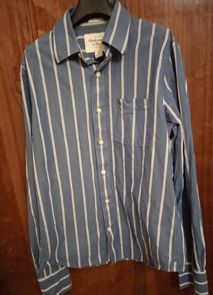 Оригінальна чоловіча сорочка бренду abercrombie&fitch