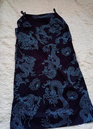 Платья с драконами