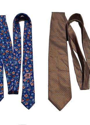 Шелковый галстук boggi milano