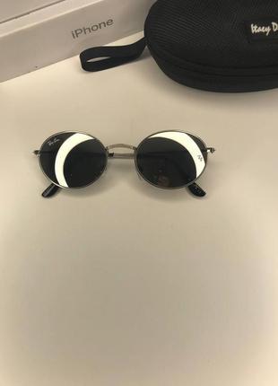 Солнцезащитные очки рейбен овал солнечные летние круглые овальные