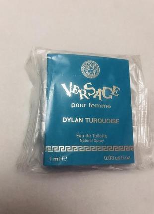 Versace dylan turquoise pour femme пробник женский аромат оригинал