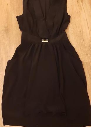 Шелковое платье elisabetta franchi