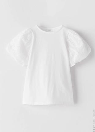 Модная футболка зара
