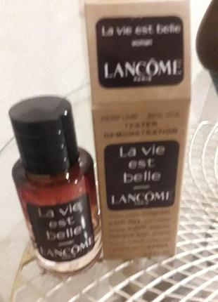 Lancome la vie est belle tester 60ml новый