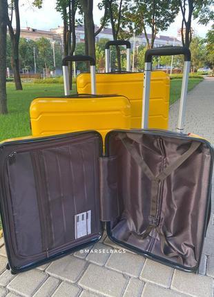 Качественный чемодан!!!полипропилен ,дорожная сумка ,сумка на колёсах ,надёжный ,двойные колеса,кодовый замок3 фото