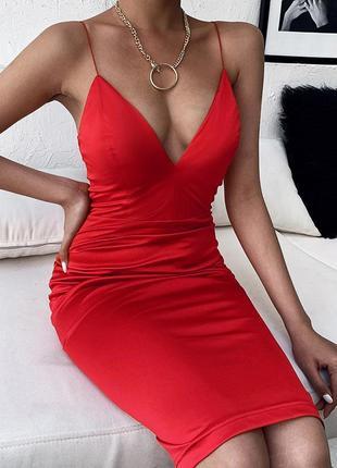 Распродажа платье prettylittlething миди на бретельках с asos