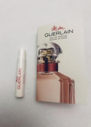 Guerlain mon guerlain bloom of rose eau de parfum женский аромат пробник оригинал