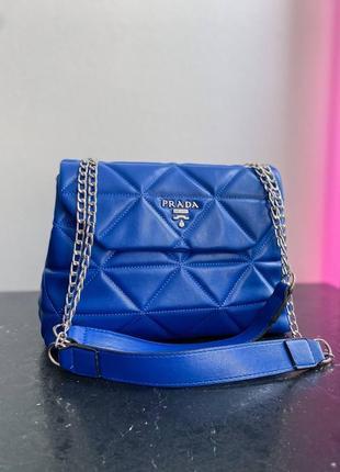 Сумка женская прада сумка сумочка электрик