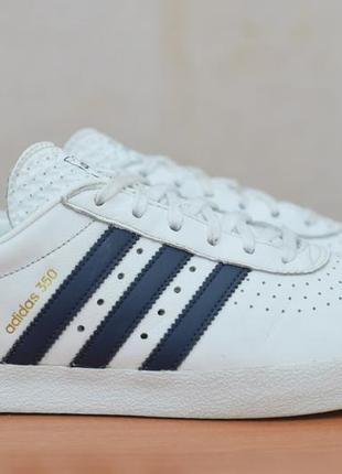 Белые женские кожаные кроссовки, кеды adidas 350, 39 размер. оригинал
