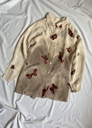 Сорочка sandro рубашка, блузка