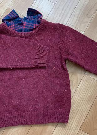 Кофта свитер на 12-18 мес