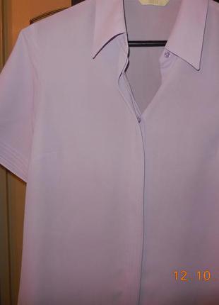 Блуза сиреневая.
