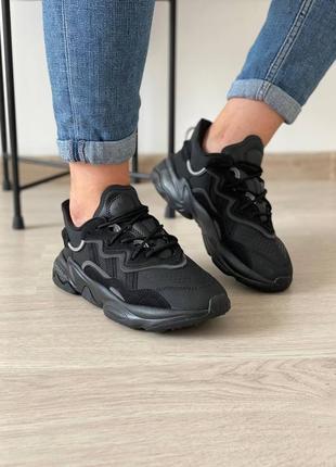 Кроссовки adidas ozweego adiprene black