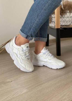 Кроссовки adidas ozweego white5 фото