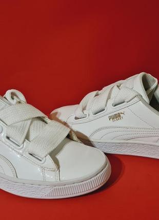 Puma basket 40р. 25.5см кроссовки