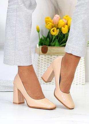 """Туфли """"simi """" женские экокожа лак"""