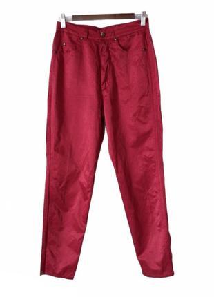 Marc cain 4 женские красные летние брюки