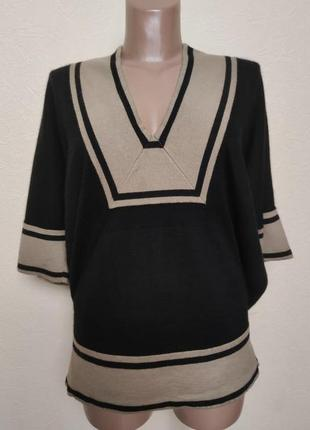 Кашемировый шелковый топ пуловер jaeger /3424/