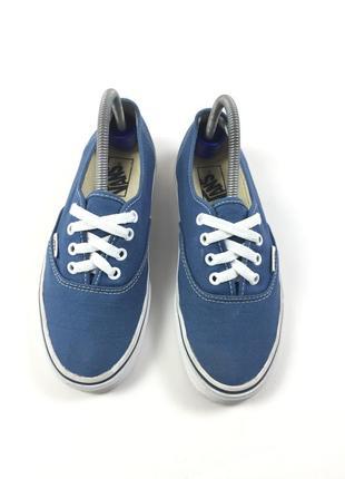 Кеды vans old school кроссовки синие обувь слипоны