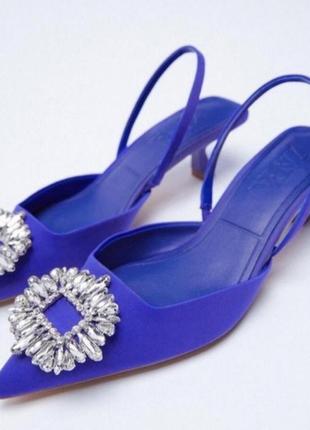 Zara трендовые туфли из новой коллекции