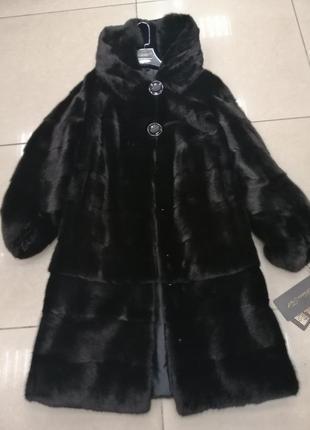 Шубы норковые - размеры 50-58 рус
