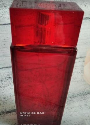 Любимая парфюмированная вода armand basi in red, распив, оригинал