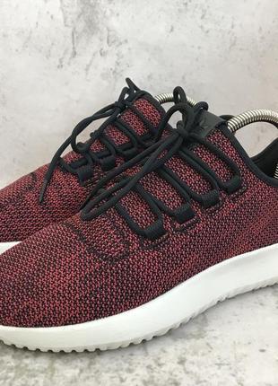 Кроссовки adidas tubular shadow red /cloudfoam runfalcon galaxy primeknit