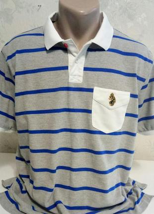 Полосатая футболочка рубашка luke