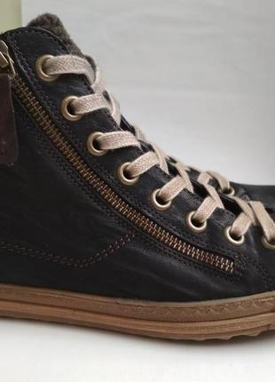 Кожаные ботинки paul green (австрия) р.5 (38)