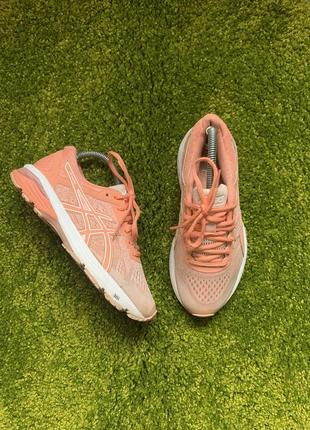 Беговые летние женские кроссовки asics gel gt-1000, размер 38, 24 см
