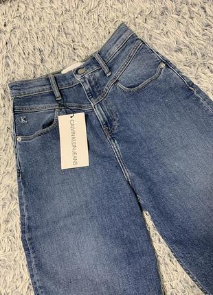 Джинсы кюлоты широкие calvin klein jeans оригинал5 фото