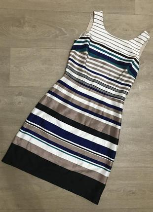 🍀нарядное платье в полоску monsoon