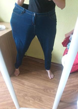 Джинсы   тоненькие джинсики, лето стрейч  denim co uk 20 eu 48