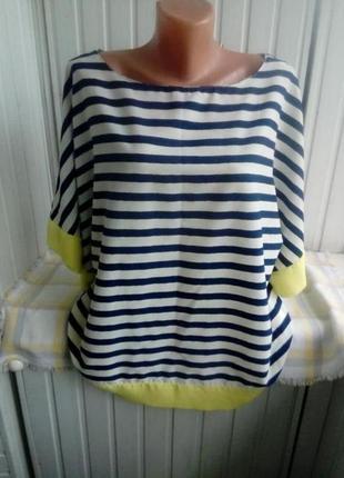 Красивая блуза рубашка большого размера батал