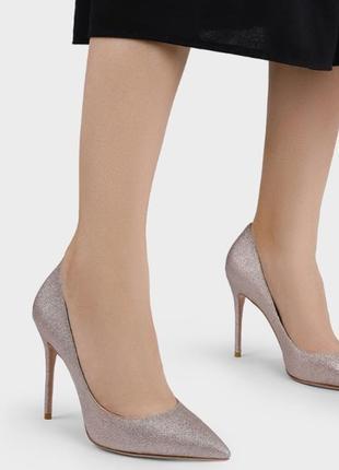 Гламурные вечерние туфли